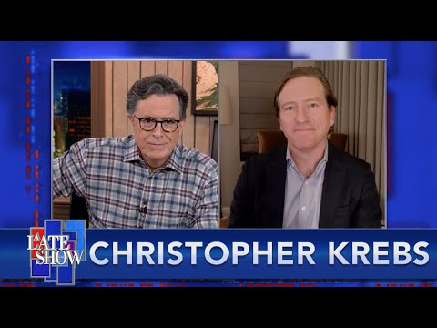 Christopher Krebs Debunks The President's Lies About Election Fraud