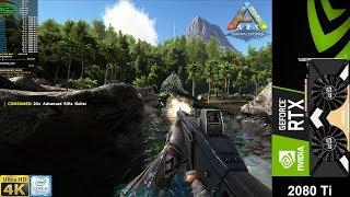 ARK Survival Evolved 4K Epic Settings | RTX 2080 Ti | i9 9900K 5GHz