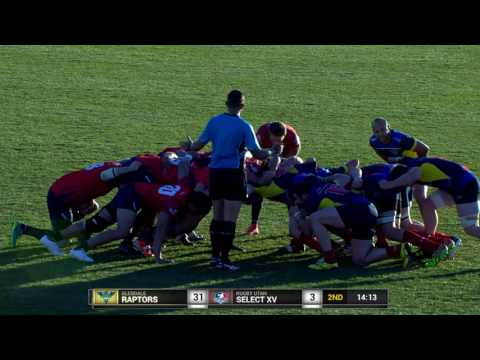Rugby Utah Select XV Vs Glendale Raptors