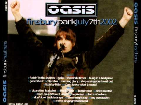 Oasis - Live @ Finsbury Park 2002 [Full Concert] (Audio) mp3