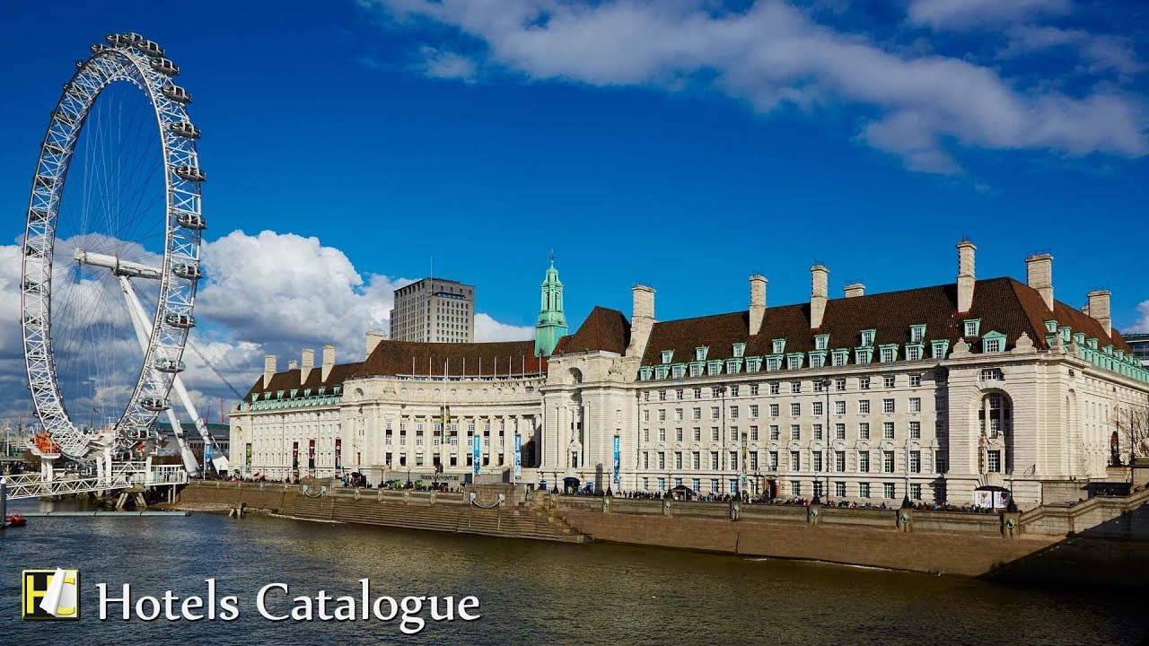 London Marriott Hotel Tour Clic And Luxury In County Hall Uk