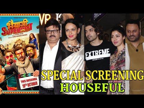 Bhaiaji Superhit Movie Special Screening | Many Celebs Attend | Sunny Deol, Preity Zinta