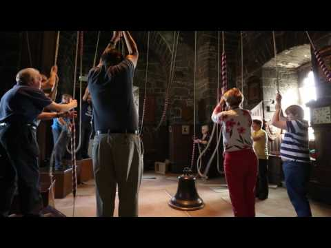 Bellringing at Saint Patrick's Cathedral Dublin