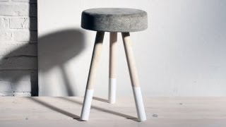 In Episode 8 of HomeMade Modern Ben Uyeda shows how to make a concrete and wood stool in a bucket. Follow us on Instagram