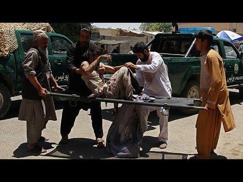 Un atentado suicida contra un banco en Afganistán deja al menos 20 muertos y 55 heridos