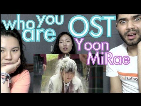 윤미래 (Yoon Mi Rae) - 너의 얘길 들어줄게 (I'll Listen To You) OST REACTION (후아유 - 학교2015 OST Part 3)