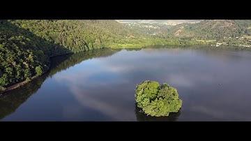 Auvergne, Murol, lac de Chambon, Drone, Phantom4, bande cinema