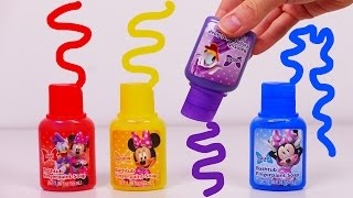 Bath Paint for Kids!! Learn Colors with Minnie Mouse