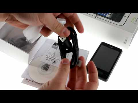 HTC HD mini unboxing video