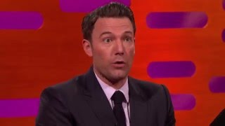 Ben Affleck's son thinks he really is Batman – The Graham Norton Show: Preview – BBC One