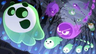 Halloween Google Doodle 2018 Online Multiplayer Game 🎃 TEAM GREEN vs TEAM PURPLE 🎃| Halloween 2018