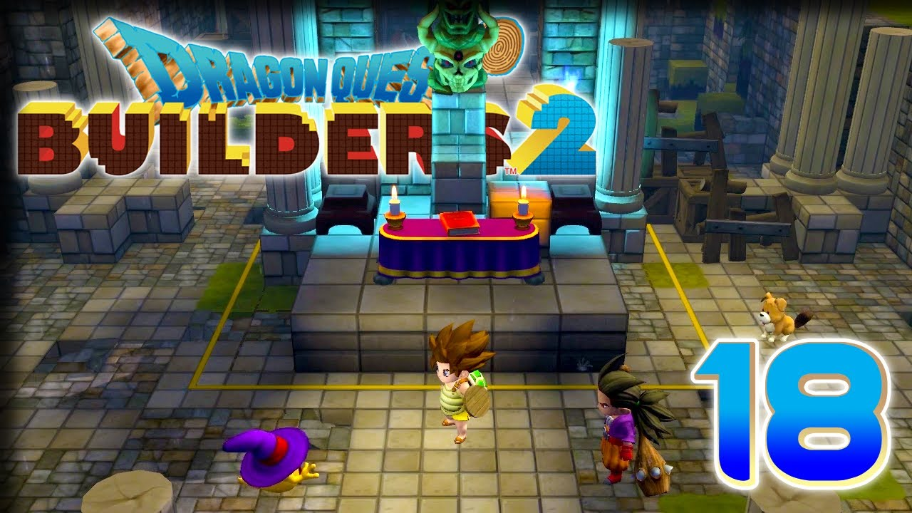 Haunted Church – Dragon Quest Builders 2 PS4 Gameplay – [Stream] Let's Play  Part 18