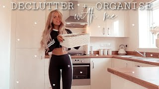 ORGANISE/DECLUTTER MY ENTIRE HOME WITH ME! Motivation + Storage Tips ✨