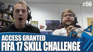 Access Granted: FIFA 17 Pass Skill Challenge