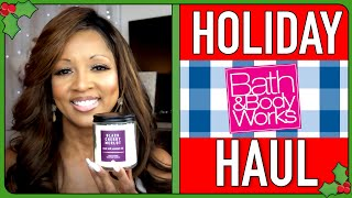 HOLIDAY HAUL: BATH & BODY WORKS - Watch now for some holiday gift ideas!