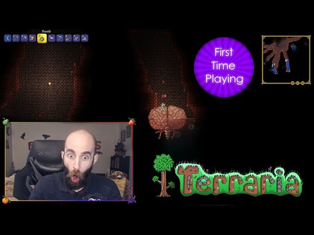 First Time Blind Terraria Playthrough - Livestream Highlights and Clips