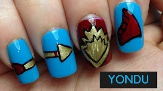 Yondu Nails |#MARVELMANIMONTH