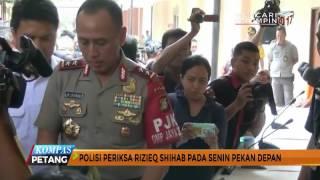 Polisi Jadwalkan Periksa Rizieq soal Tuduhan Palu Arit | KOMPASTV