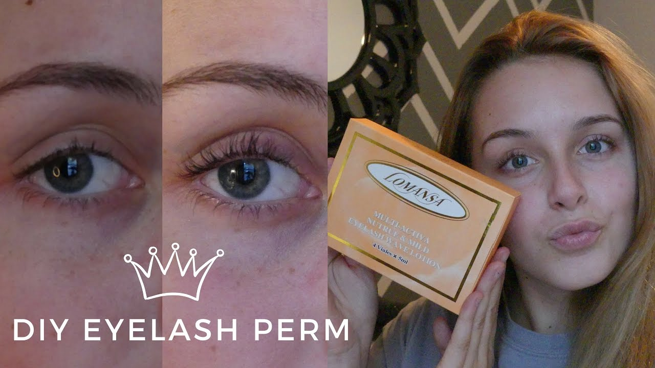 Diy eyelash perm incredible results youtube solutioingenieria Images
