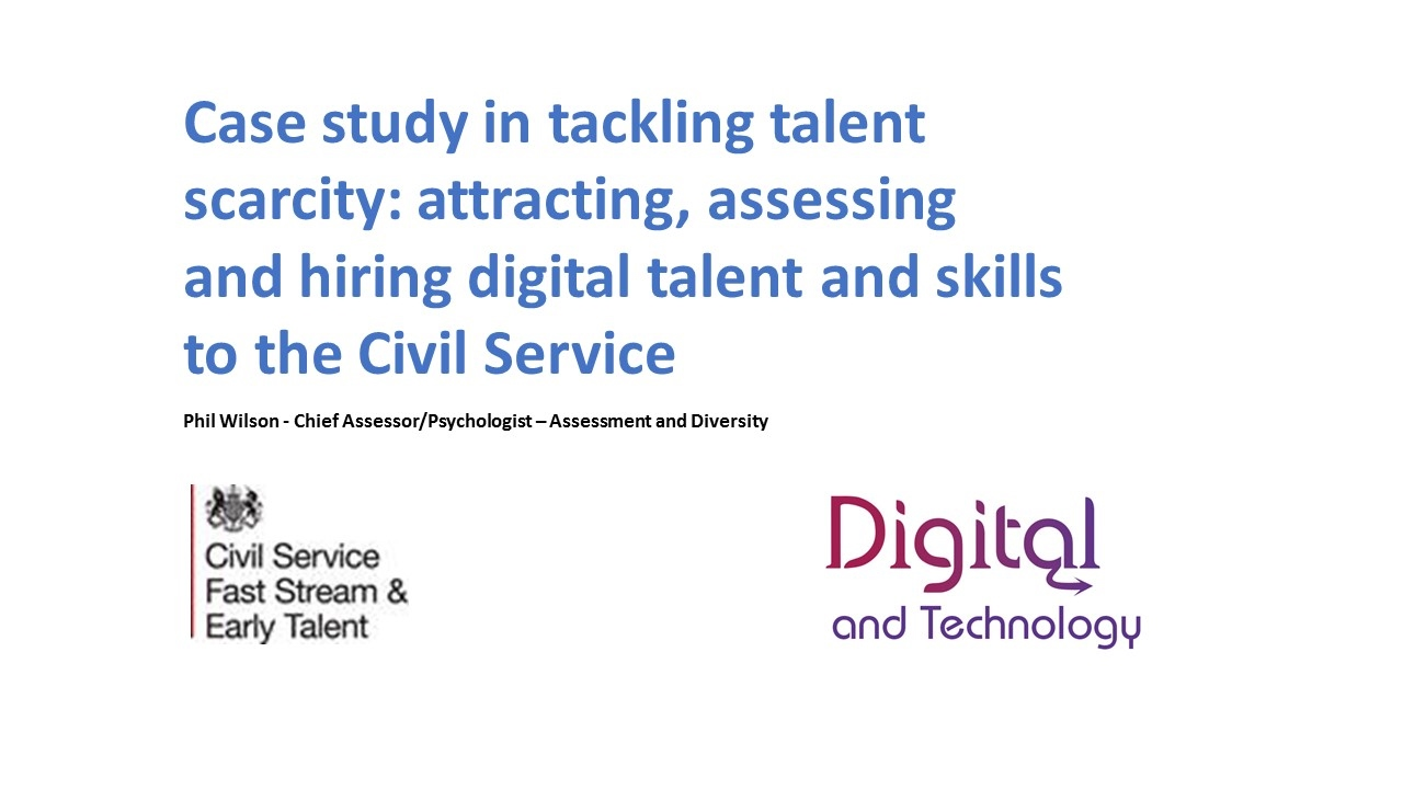 Civil Service learnt from data to win the best digital native graduates