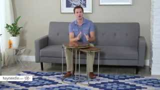 Hammary Hidden Treasures T73317-00 Nest Of Tables - Product Review Video