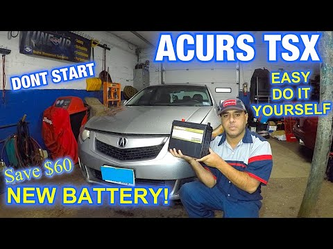 How to replace Battery on ACURA TSX Quick safe and without Loosing Radio code