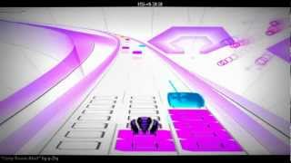 "AudioSurf Pusher Mode: ""Hasty Boom Alert"" by µ-Ziq"