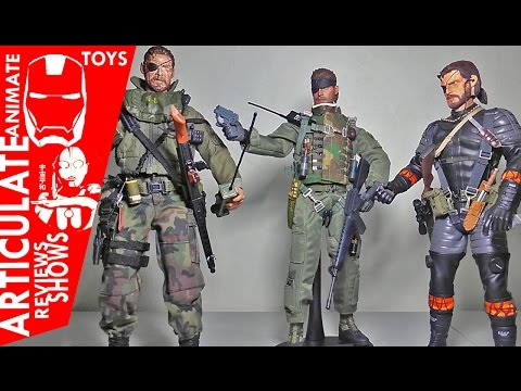 Metal Gear Solid The Phantom Pain  - Venom Snakes & Naked Snake 1/6 Scale Kitbashes