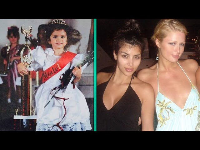 Best Celebrity Throwback Picture: Selena Gomez, Kim Kardashian, Taylor Swift