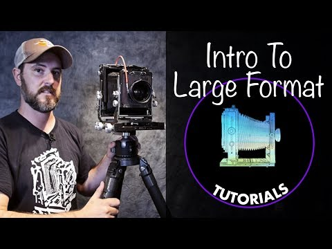 An Introduction to Large Format camera systems