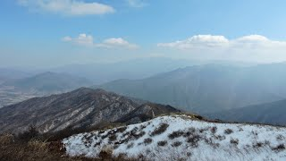 지리산 바래봉 겨울 Winter in Jiri Mt. …