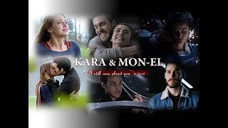 It's about the relationship between Kara Danvers and Mon-El in Supe...