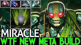 Miracle- [Earth Spirit] WTF New Meta Build Pro Support 7.21 Dota 2
