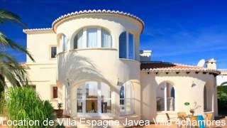 Villa de luxe a louer Espagne Javea - Vacances Espagne