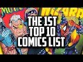 Bringing Wizard Magazine Back - The 1st Top 10 HOT COMICS LIST