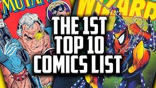 Bringing Wizard Magazine Back - The 1st Top 10 HOT COMICS LIST