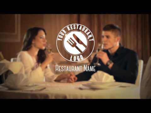 Restaurant promo video template