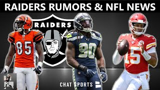 Raiders News & Rumors: Jadeveon Clowney, Chad Johnson, Allegiant Stadium + Nfl News: Patrick Mahomes