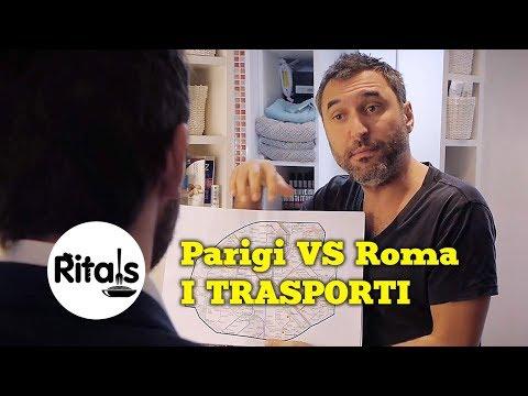 Ritals - Parigi vs Roma - I trasporti