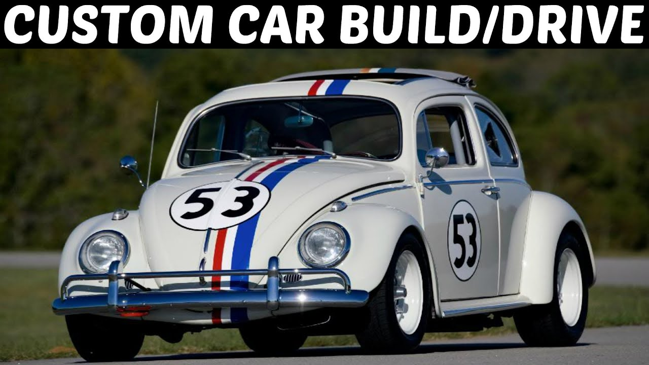 Special cars volkswagen beetle bug v8 - Forza 5 Custom Car Build Drive 4 V8 Vw Beetle Herbie Goes Bannanas Youtube