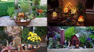 4 Fall Fairy Garden Ideas! 🍂🍁