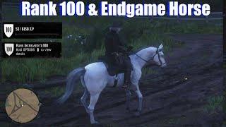 RDR2 Rank 100 & Endgame Horse Creation - Red Dead Redemption 2 Online PS4 Pro