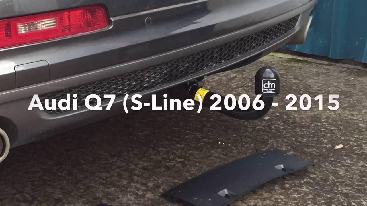 Audi Q7 (S-Line) 2006-2015 Detachable Swan Neck Towbar - Bosal 029-743 - YouTube