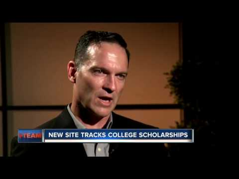 New site tracks college scholarships
