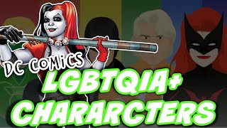 A QUICK History of LGBTQIA Characters in DC Comics And ALL My Favorites