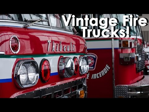Beauharnois Fire Dept. - Old Trucks Still In Service! (feat. 1959 Ford C-Series - Full HD)
