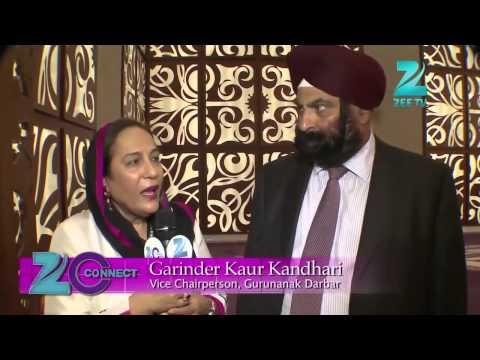 Sheikh Nahyan visits the Gurdwara in Dubai