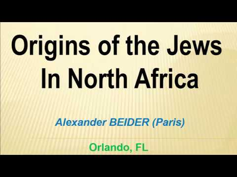 28919   Origins of Jews from North Africa