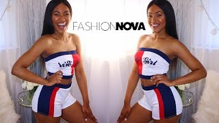 Fashion Nova Try On Summer Clothing Haul