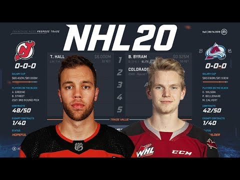 WHAT COULD NEW JERSEY TRADE TAYLOR HALL FOR? - NHL 20